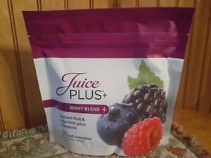Juice Plus 120 Soft Chewables Gummies Berry Blend New/Sealed Best By 03/2022