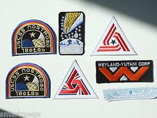 ALIEN Film Weyland Nostromo USCM Colonial Marines Aigle Ras [7 patch set]