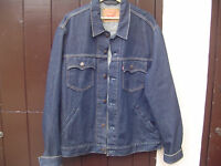 Levi Denim Jacket 70570 06 XL