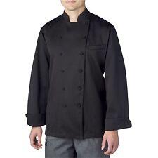 New Chefwear Classic Executive Chef Coat Black Size Xs
