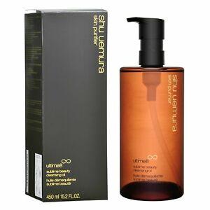 Shu Uemura Skin Purifier Ultime8 Sublime Beauty Cleansing Oil 450ml 15.2 FL.OZ