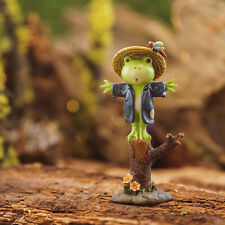 Miniature Dollhouse Fairy Garden Poko The Frog Keeper Of The Farm