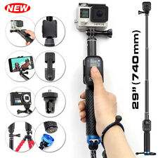 For GoPro Hero 4 3+ 3 Selfie Stick Extendable Monopod Telescopic Handheld Pole