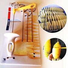 Tornado Potato Spiral Cutter Slicer 4spits Chips Making Twist Shredder Kitchen