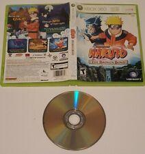 Naruto: The Broken Bond Microsoft Xbox 360 * Free Shipping* Rare game * VG *NTSC