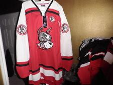 Colosseum Boston Terriers Throwback Hockey Starter Jersey xxl 2xl New! NWT