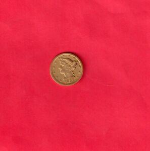 """****  KEY DATE  1853 """"D"""" $5. GOLD  DAHLONEGA  RARE   ***"""