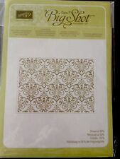"Sizzix ""Big Shot LACY BROCADE Textured Impressions Embossing"" NEW Stampin'UP!"