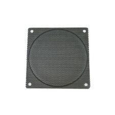 140mm Steel Mesh Fan Filter (Guard), Black, Small Hole