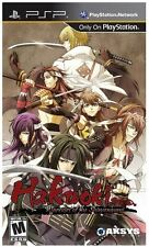 Hakuoki: Warriors of the Shinsengumi  (PSP)