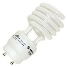 23W CFL Mini Spiral GU24 Base 3500K Soft White =100W Fluorescent Light Bulb