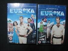 série sur DVD Eureka Saison 3.0 y 3.5 - Anglais - Bonne Etat