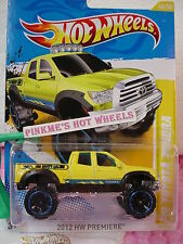 2012 #40 Prem Hot Wheels '10 TOYOTA TUNDRA Truck ☆Yellow☆Bro Dave Racing☆Premier