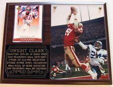 "Dwight Clark #87 ""The Catch"" San Francisco 49ers Legend NFL Photo Card Plaque"