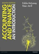 Accounting and Finance: An Introduction, 8E by Eddie McLaney, Peter Atrill