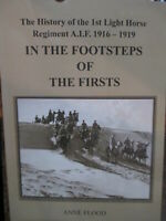 History of the Australian First Light Horse Regiment WW1 1916-19  New Book