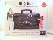 4 FEET iBig Box Inflatable Boom Box -  Compatable- iPod, iPhone, Android, MP3
