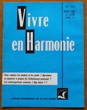 Vivre en Harmonie N°260 de 1975 ✤ Dextreit ✤ Allaitement / Anticoagulants...