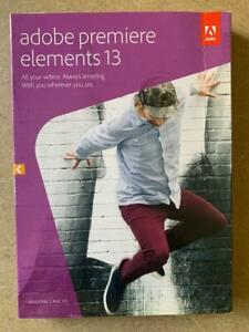 Adobe Premiere Elements 13 (Win & Mac) - Factory Sealed