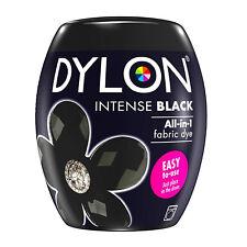 DYLON Textilfarbe intensives Schwarz Farbe & Fixierer für 600g Stoff fabric