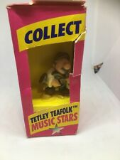 Vintage Tetley Tea Folk Music Stars  Retro Collectable Figure Playing Tuba