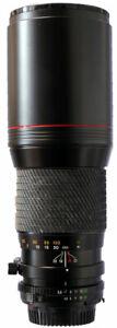 Tokina 400mm f5.6 Minolta MD Fit lens