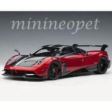 AUTOart 78276 PAGANI HUAYRA BC 1/18 MODEL CAR ROSSO DUBAI CARBON