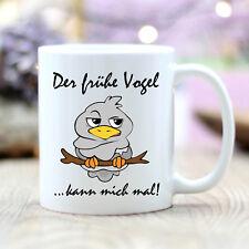 """Taza de Cerámica """"Der Frühe Pájaro"""" T314 Desayuno Morgenmuffel Regalo Pájaro"""