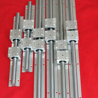 Support Linear Rail Bearing Slide SBR12-200/300/450MM(6 rails+12 blocks) for CNC