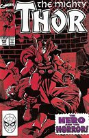 Mighty Thor Comic 416 Copper Age First Print 1990 Tom Defalco Ron Frenz Marvel