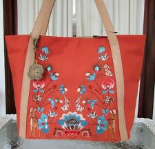 Disney Loungefly Canvas Tote Snow White Woodland Bag Purse & Key Chain Nwt