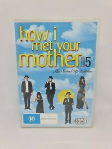HOW I MET YOUR MOTHER Season Five DVD Region 4 TV Show Very Good Condition
