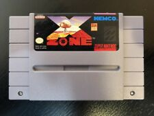 X Zone - Snes ( Super Nintendo ) Game Only !