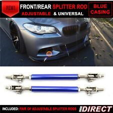 Fits Blue Universal Adjustable 140mm-200mm Front Rear Splitter Rods