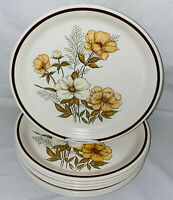 """8 Town & Country Stoneware *MILL RUN* 10 1/2"""" DINNER PLATES*"""