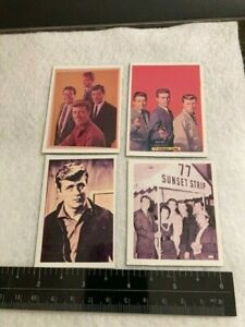 77 Sunset Strip Cast Pictures for TV Guide 1960's  Refrigerator Magnet Collectio