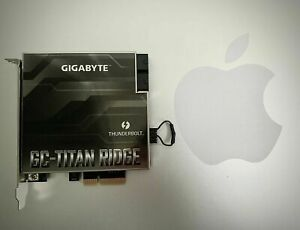 Gigabyte GC-Titan Ridge 2.0 Thunderbolt 3 USB-C 3.2 flashed For Mac Pro