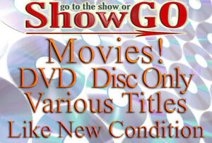 Movies & Shows I-O (DVD) *DISC ONLY* Like New Condition - Read Description