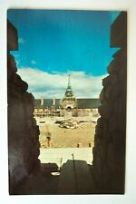 Postcard Vintage Fortress of Louisbourg Governors Chambers Nova Scotia Canada