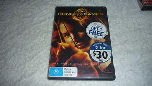 The Hunger Games - Ex Rental DVD - R4