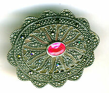 Natural Marcasite Fine Brooches & Pins
