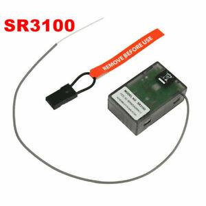 RC SR3100 DSM2 3 Channel Surface Receiver for Spektrum DX3R DX2E Transmitter