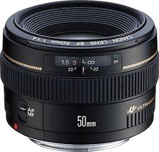 Objetivos Canon F/1, 4 para cámaras Canon