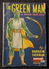1946 THE GREEN MAN by Harold M Sherman G/VG 3.0 Century Adventure