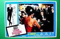 T01 Fotobusta Agent 007 Lizenz Von zu Töten Sean Connery James Bond Spy Kult