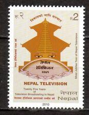 Nepal - 2010 25 years television - Mi. 997 MNH