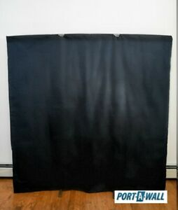 Privacy Room Divider Port A Wall Portable Black