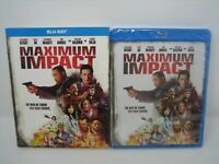 maximum impact bluray with slipcover brand new sealed danny trejo tom arnald