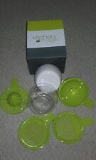 KITCHEN FOOD PREPARATION TOOLS 6 IN 1 JUG CUP SIEVE ZESTER FUNNEL COMPACT NEW