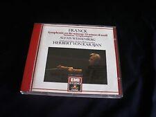 WEISSENBERG , VO KARAJAN 'Franck Symphony in D minor' EMI Digital. Made in Japan